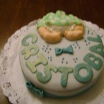 Torta Baby Shower Niño 2.0